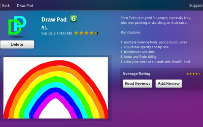Draw Pad from BlackBerry World