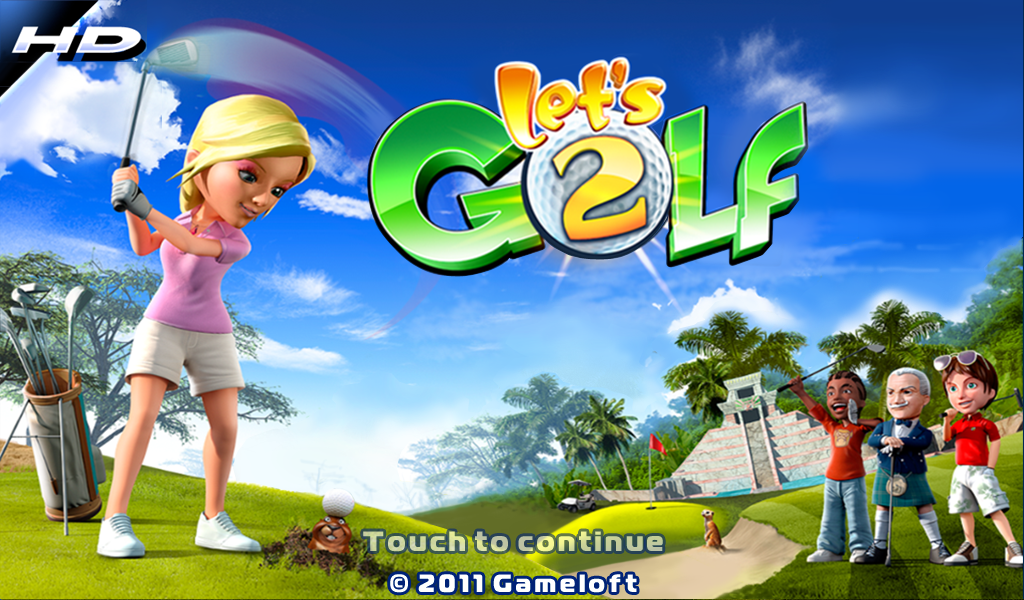 Lets Golf 2 for the PlayBook