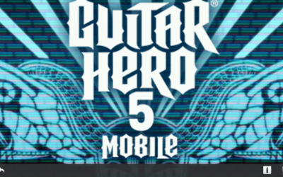 Guitar Hero 5 Mobile for the PlayBook