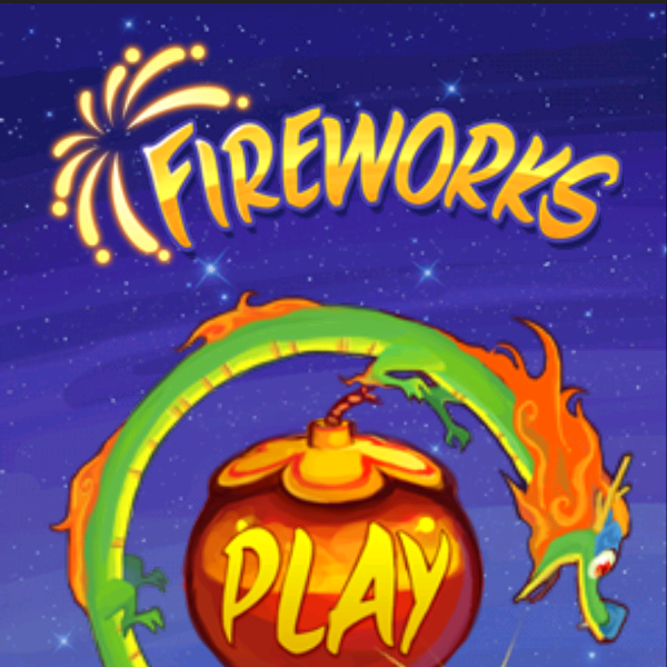 Fireworks Puzzle Game for the PlayBook
