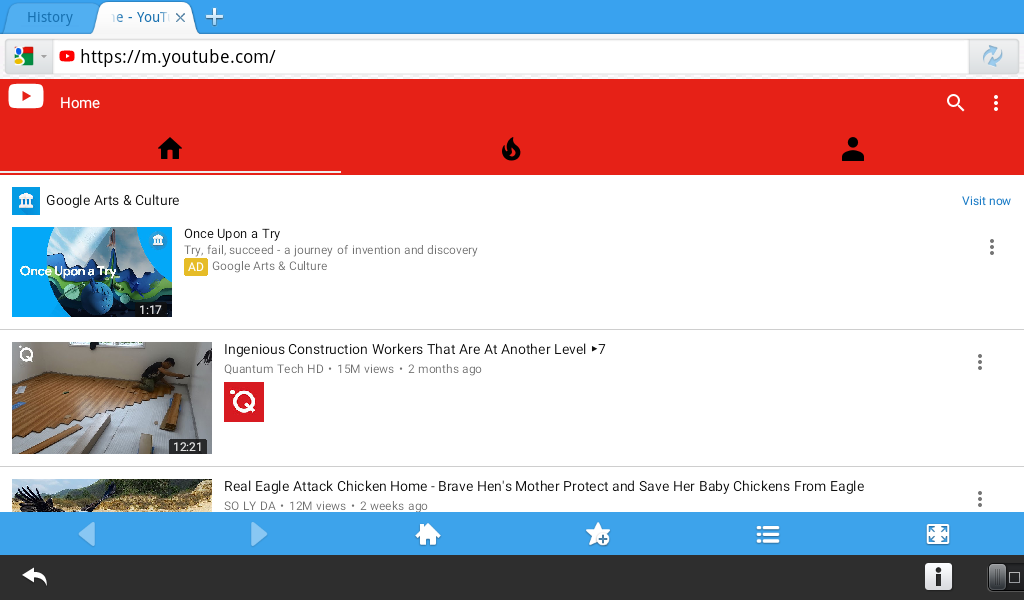 Maxthon Browser for BlackBerry PlayBook