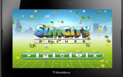 Sim City Deluxe for BlackBerry PlayBook v1.5.0