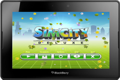 Sim City Deluxe for BlackBerry PlayBook v1.5.0