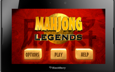 Mahjong Legends Game for BlackBerry PlayBook