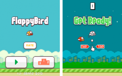 Flappy Birds Game for the PlayBook