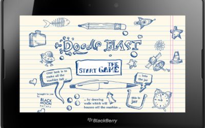 Original Doodle Blast for Blackberry PlayBook