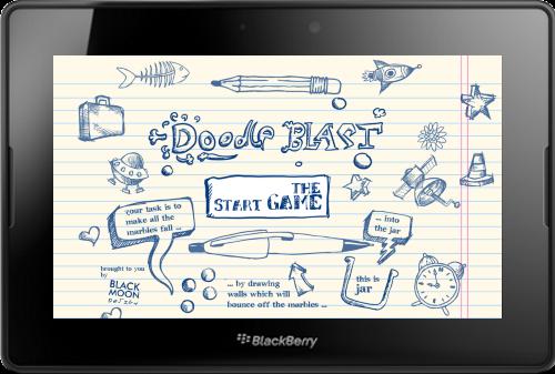 Original Doodle Blast for Blackberry PlayBook