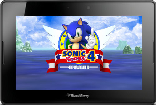 Sonic the Hedgehog 4 Episode I for PlayBook