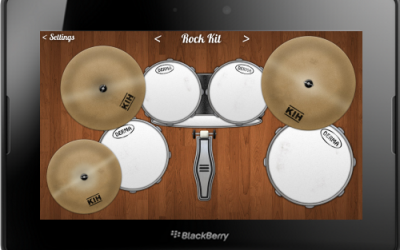 Drum Kit for the BlackBerry PlayBook