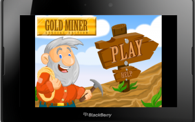 Gold Miner Classic Game for the PlayBook