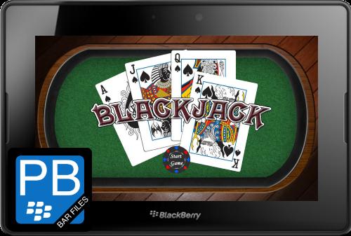 Black Jack Game for BlackBerry PlayBook